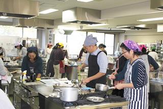 学校給食教室
